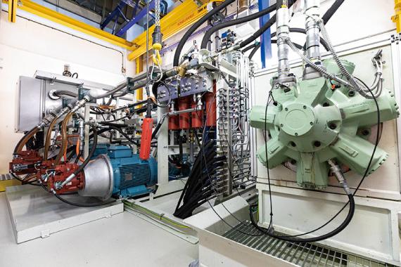 HMC 045 P 45-15 FM2 CS China Staffa Electrical Motor